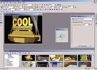 [Ulead Cool 3D] Come impostare le luci in un progetto