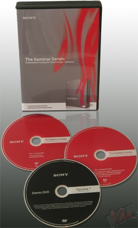 Sony Sound Forge 9 Seminaries Series