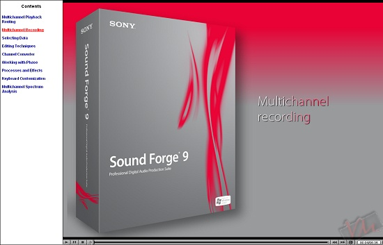 Sony Sound Forge 9 Seminaries Series