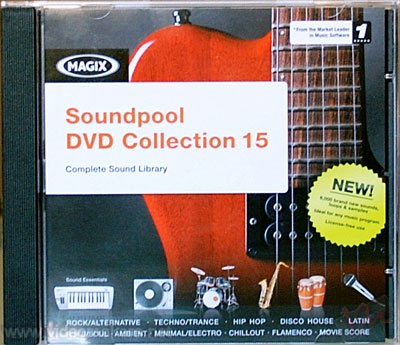 [Loops & SoundFX] Magix Soundpool DVD Collection 15