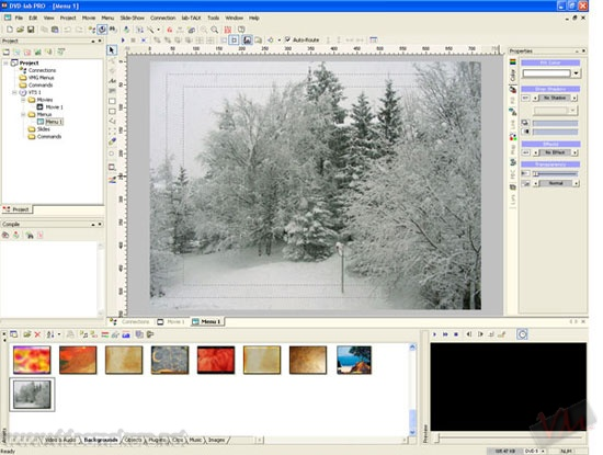 [DVDLab Pro] Realizzare uno sfondo menu con Ge-EFX