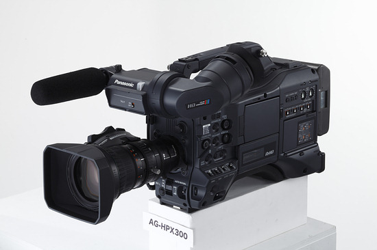 Panasonic AG-HPX301E - Nuovo Camcorder P2 HD
