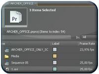 [Adobe Premiere Pro CS4] Variare la velocità di più clip contemporaneamente