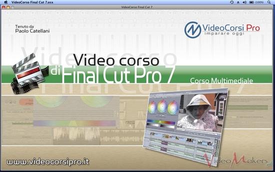 [Corsi e training] VideoCorsi Pro - Final Cut Pro 7
