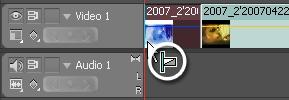 [Adobe Premiere Pro CS4]   Transizione animata nel tempo