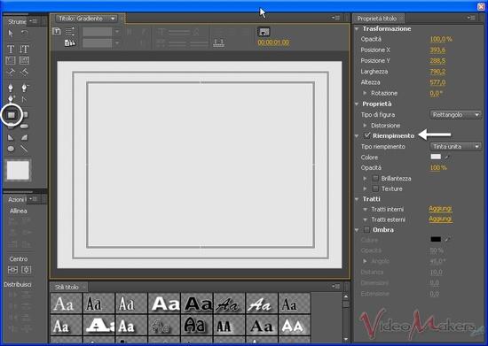 [Adobe Premiere Pro CS4]     Transizione con un'immagine