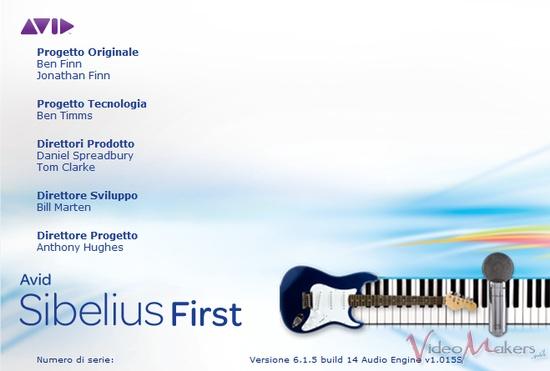 [Audio Editing] Sibelius 6 First