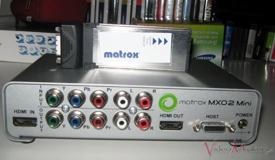 [Hardware] Matrox MXO2 mini