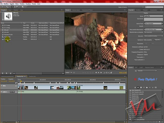 [Adobe Encore CS5] Videotutorial: Creare un DVD - Parte 1
