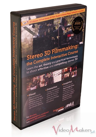 [Corsi e training] Stereo 3D Filmmaking: The Complete Interactive Course