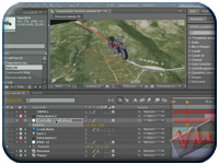 Adobe After Effects CS4-CS5 – Percorso su cartina con moto in 3D