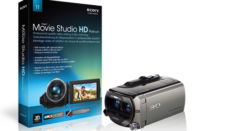 Vegas Movie Studio HD 11 – Sony HDR-TD10E: Import, Edit, Render