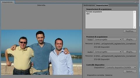 Adobe Premiere Pro CS5.5 – L'Acquisizione (Parte 1)
