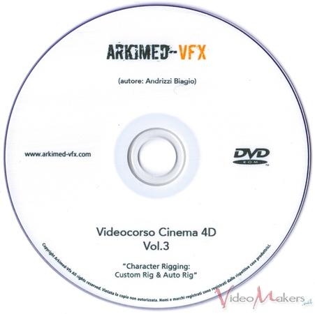 [Corsi e training] Cinema 4D Nuovo Vol.3 - Character Rigging