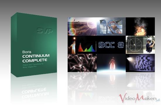 [Software] Boris Continuum Complete 8 per Vegas Pro 11