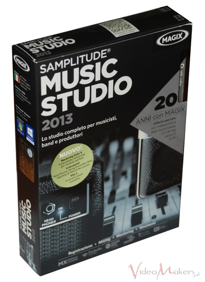 [Audio Editing] Magix Samplitude Music Studio 2013