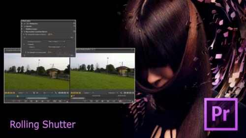 Premiere Pro CS6 - Rolling Shutter 000