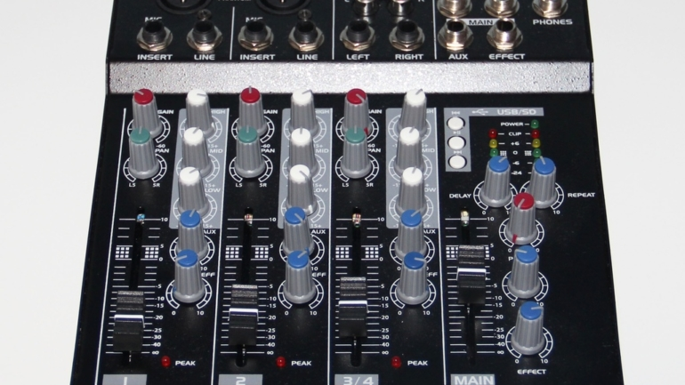 [Hardware] Mixer DJ Power Dynamics PDM-L404MP3