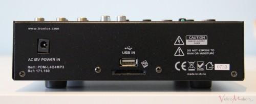 Mixer DJ Power Dynamics PDM-L404MP3