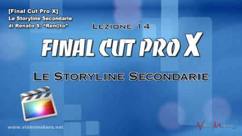 FCPX Lezione 14 - Storyline Secondarie