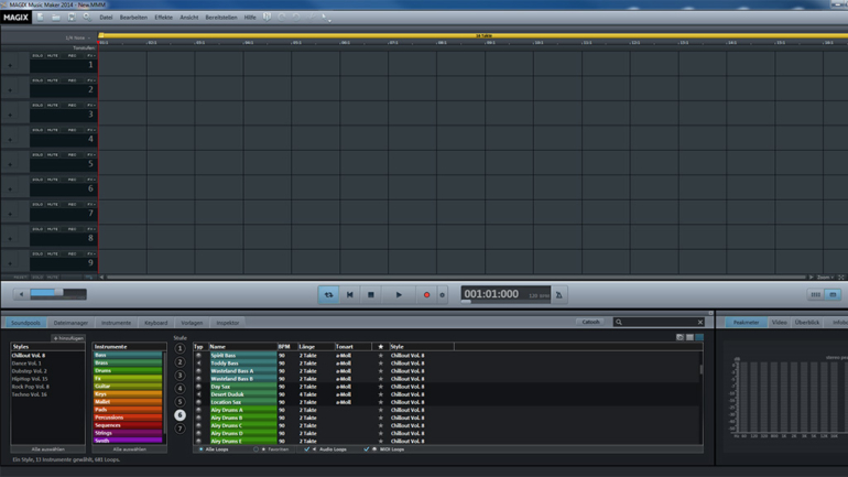 Nuovo MAGIX Music Maker 2014
