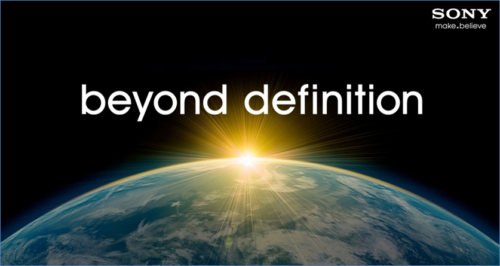 Sony Beyond Definition