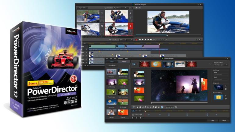 CyberLink Porta la Creazione Video a Livelli Mai Visti Prima con il Lancio della Serie PowerDirector 12