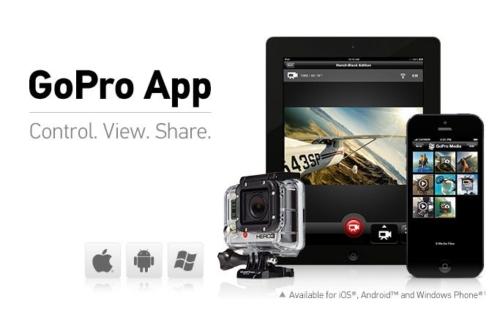 GoPro App 2.0 - Main