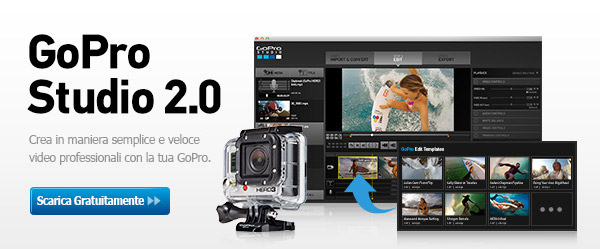 GoPro Studio 2.0: l'editing video secondo GoPro