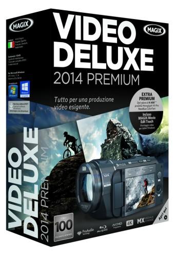 Magix Video Deluxe 2014 Premium Boxshot