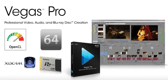 Vegas Pro 12: Aggiornamento 12.0 Build 714 – Supporto XAVC e XAVC S Completo