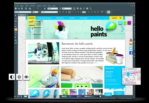 Magix Web Designer 9