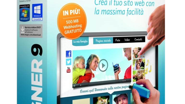 MAGIX presenta la nuova versione di MAGIX Web Designer