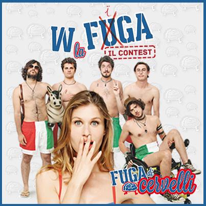 #Wlafugacontest: iniziativa social per il film Fuga di Cervelli