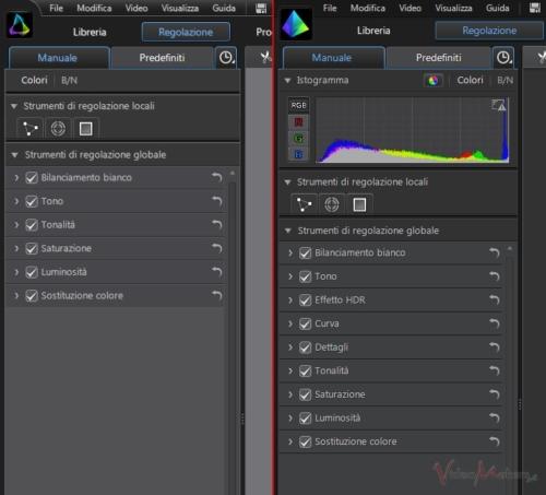 ColorDirector2 - Confronto Effetti ColorDirector1