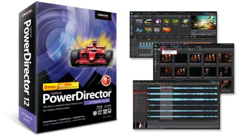 PowerDirector12 - Ultimate Suite 2