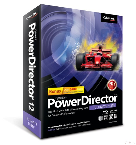 PowerDirector12 - Ultimate Suite 2 Boxshot