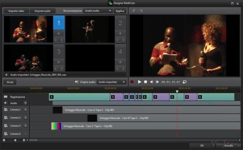 PowerDirector12 - Designer Multicam