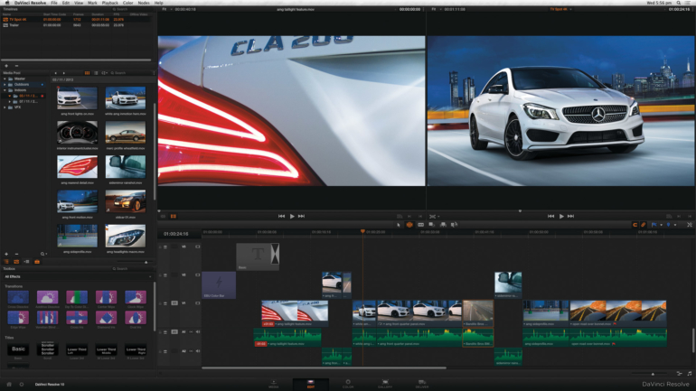 Blackmagic Design annuncia DaVinci Resolve 10.1