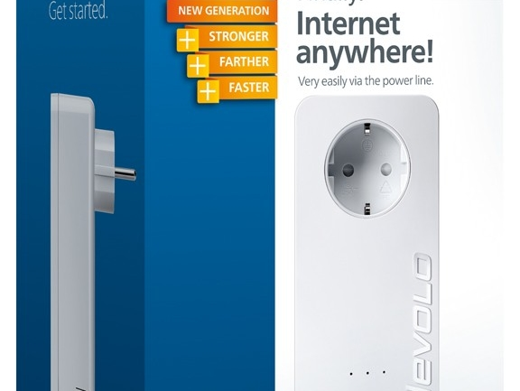 dLAN 650 triple+ devolo: 3 porte Gigabit Ethernet e velocità fino a 600 Mbps