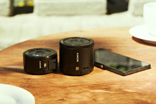 Sony DSC-QX100 e DSC-QX10