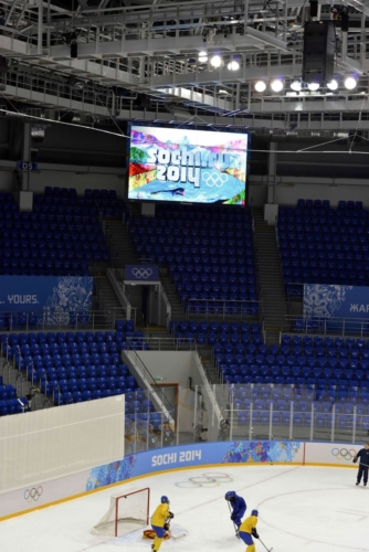 Panasonic Sochi 2014 - LED Screen