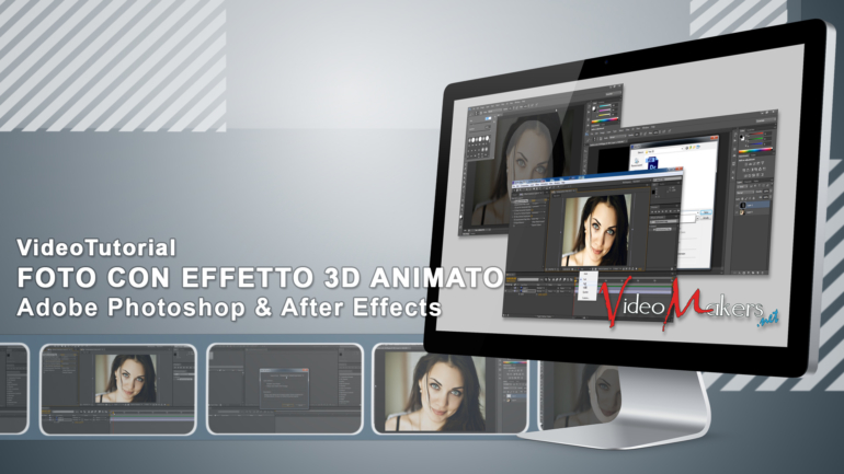 [Adobe After Effects] Foto Con Effetto 3D Animato