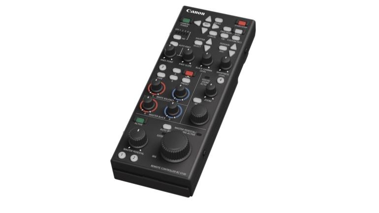 Un nuovo controllo remoto e nuove funzionalità aggiuntive per le videocamere professionali Canon