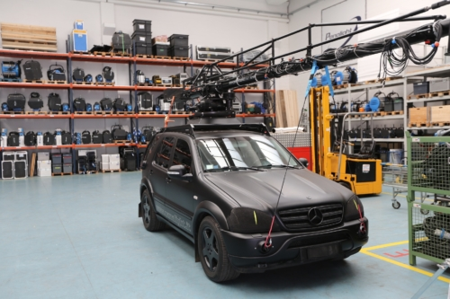 Canon Rental Days 2014 - Mercedes con crane