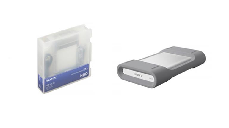 Sony amplia la linea di unità di archiviazione portatili con il nuovo hard disk da 2 TB per l'uso professionale