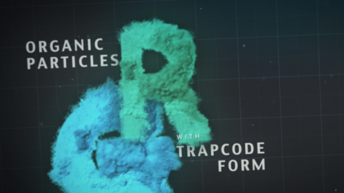 Particelle Organiche Con Trapcode Form