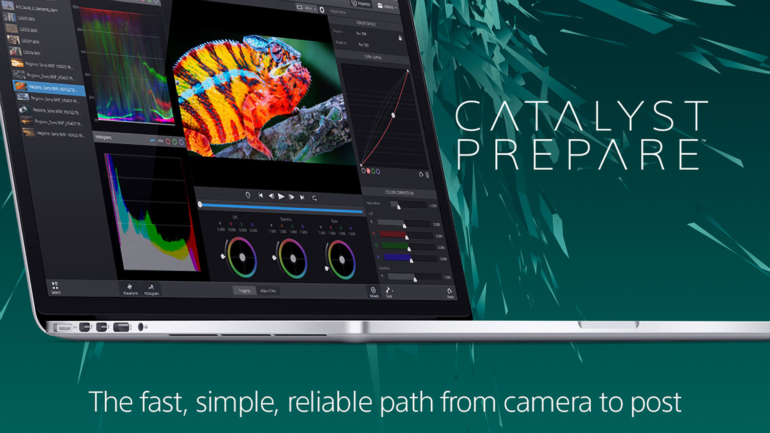 Sony Creative Software presenta Catalyst Prepare