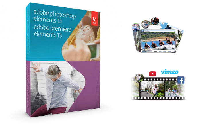 Adobe presenta Photoshop Elements 13 e Premiere Elements 13