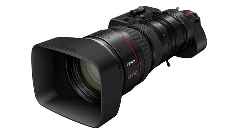 Canon presenta un nuovo super tele-zoom 4K cine-servo con la focale più lunga del mondo